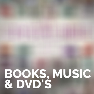 Books, Music & DVD's